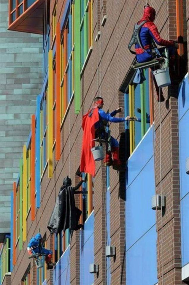 window-washers-at-childrens-hospital